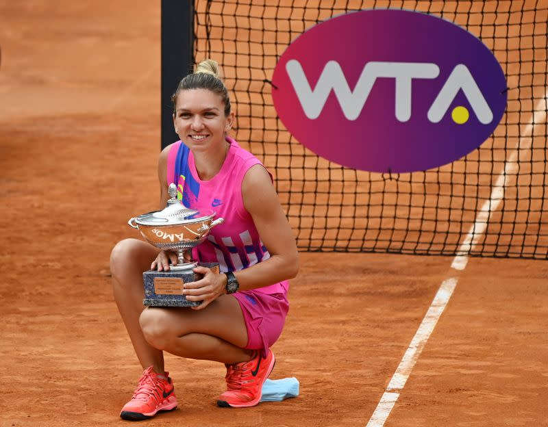 Halep taking her game to a higher plane after shutdown