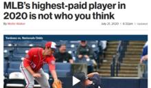 「殷」錯陽差登本季最高薪 紐約郵報:完全想不到