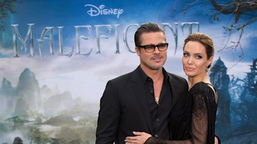 Brad Pitt and Angelina Jolie Are Working on Their Honeymoon