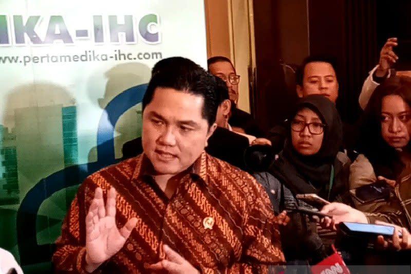 """Erick Thohir: Penggabungan RS BUMN untuk jadi """"market leader"""""""