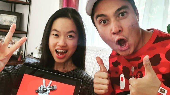 Claudia Santoso Juara The Voice Jerman, Baim Wong: Indonesia Bangga