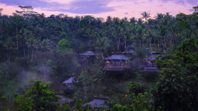 Resor di Tengah Hutan, Capella Ubud Bali Jadi Hotel Terbaik Dunia