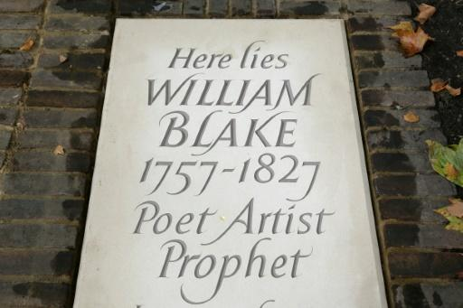 The original coordinates of Blake's burial became confused when parts of the cemetery were converted into gardens