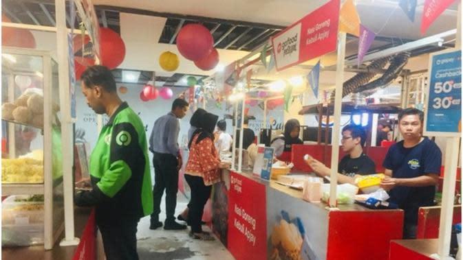 GoFood Festival di Blok M, Jakarta Selatan. foto: istimewa