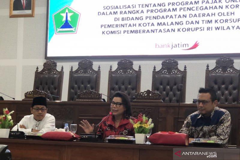 KPK ingatkan pelaku usaha di Kota Malang untuk taat pajak