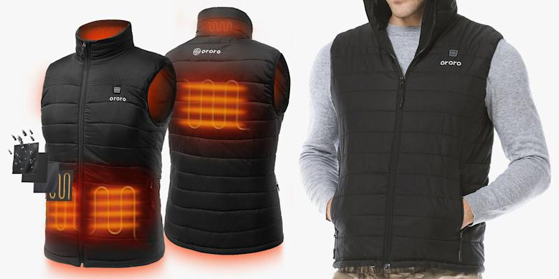 This Heated Vest Keeps You Warm Outdoors When the Temperatures Plummet