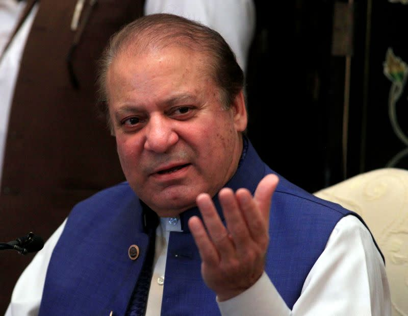 Former Pakistani prime minister accuses country's army chief of toppling his government