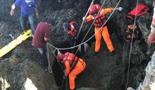 龍坑採捕海菜失蹤男子 礁縫處尋獲