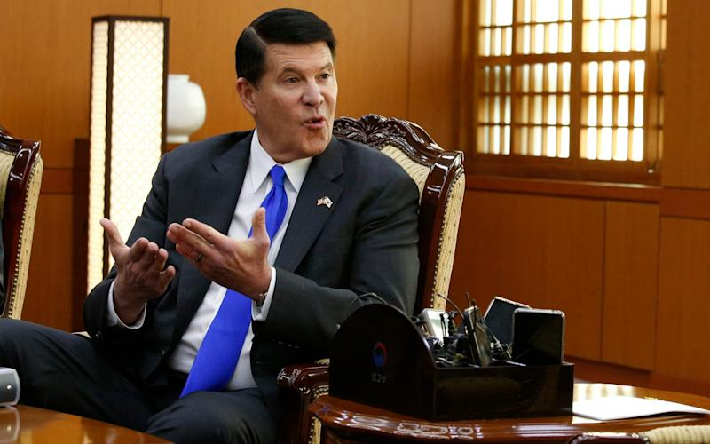 Undersecretary of State Keith Krach will land in Taiwan on Thursday - Heo Ran/Reuters