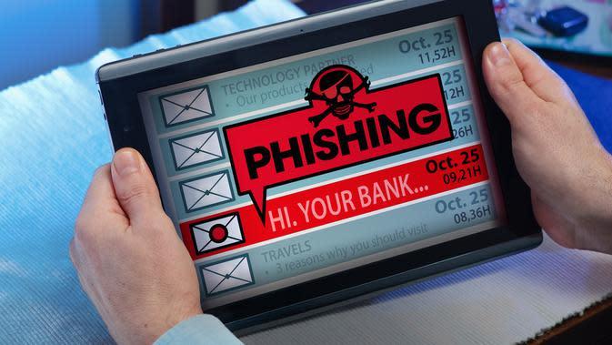 ilustrasi Tips Menghindari Kejahatan Phishing/shutterstock