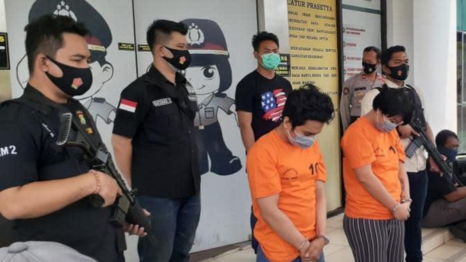Polisi Tangkap Pembuat Ekstasi Rumahan di Tangerang