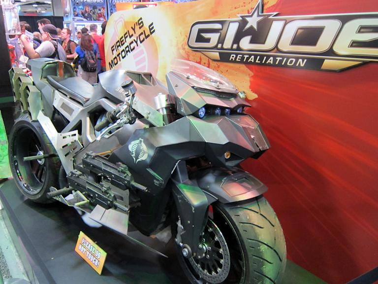Firefly's motorcycle from 'G.I. Joe: Retaliation' - San Diego Comic-Con 2012