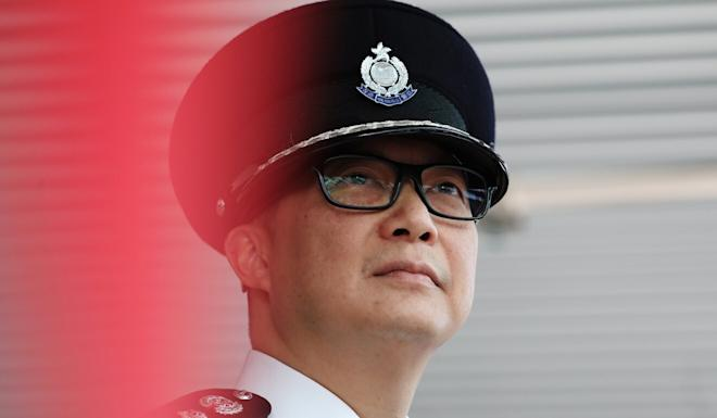 Hong Kong Commissioner of Police Chris Tang was one of 11 local and mainland officials slapped with US sanctions last week over the new national security law. Photo: Nora Tam