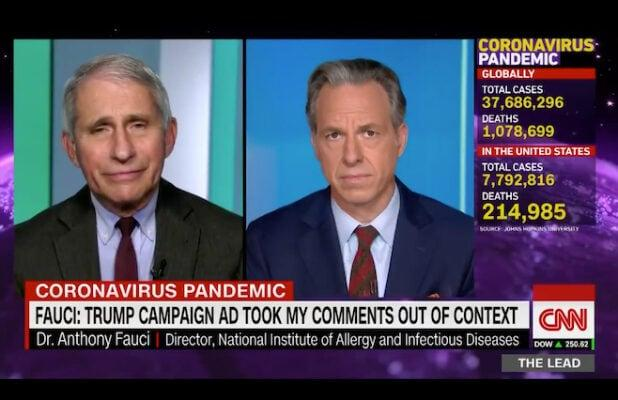 Fauci Says Trump Campaign Should Take Down 'Completely Out of Context' Ad