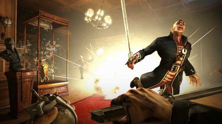 screenshot of dishonored on pc