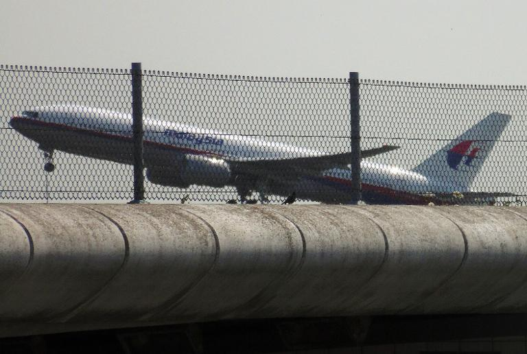 Photo shows Malaysia Airlines flight MH17 taking off from Schiphol Airport in Schiphol, the Netherlands, on July 17, 2014