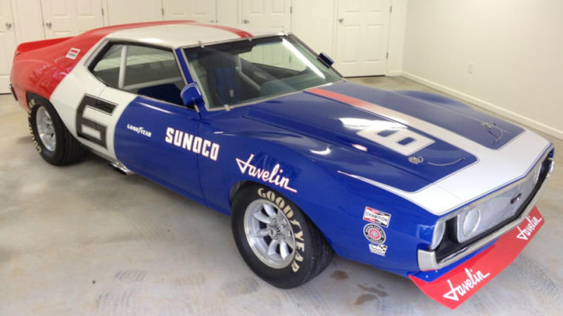 AMC Javelin AMX Trans-Am race car replica could win your driveway easy