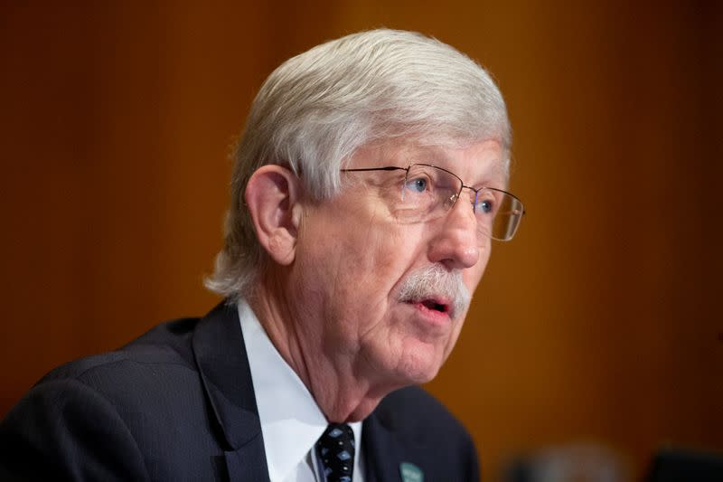U.S. NIH director says will not compromise on coronavirus vaccine safety
