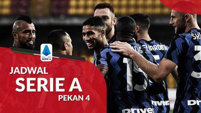 MOTION GRAFIS: Jadwal Liga Italia Pekan 4, Inter Milan Hadapi AC Milan