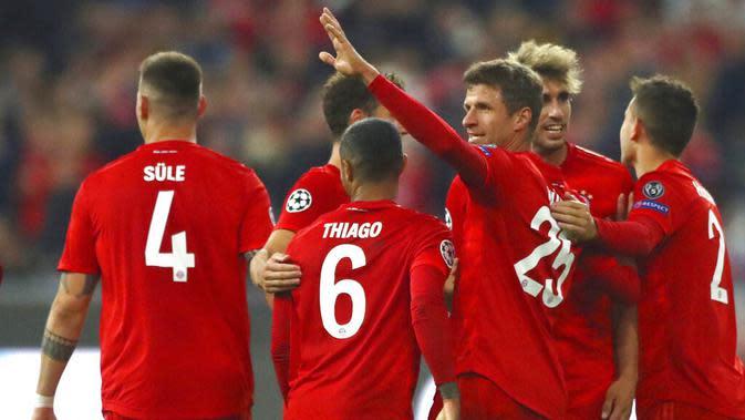 6. Bayern Munich - 756 juta euro. (AP/Matthias Schrader)