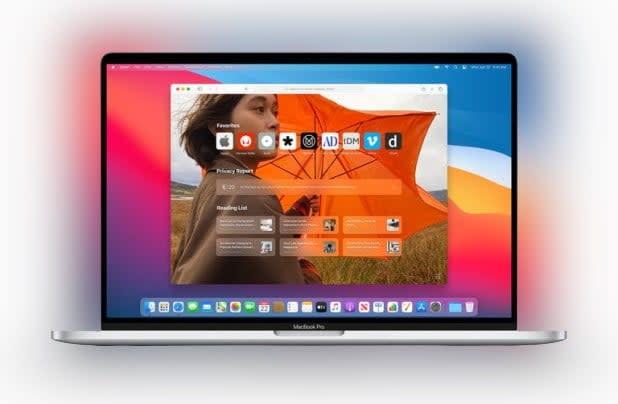Apple MacOS Big Sur Safari