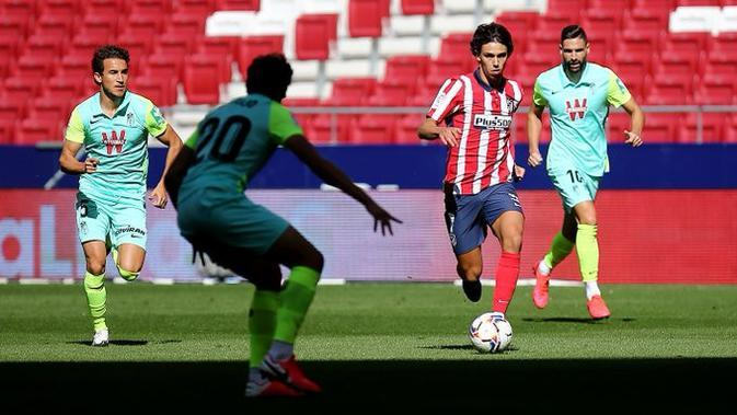 Atletico Madrid meraih kemenangan 6-1 atas Granada pada laga pekan ketiga La Liga Spanyol di Estadio Wanda Metropolitano, Minggu (27/9/2020) malam WIB. (dok. Atletico Madrid)