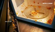 蛋黃酥想熱熱吃?送微波爐加熱秒爆炸