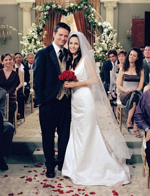 The Secret History of Monica and Chandler's Romance on 'Friends'