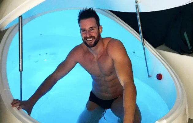 Australian swimmer, James Magnussen, is a big fan of both cryotherapy and float therapy at KOA Recovery. Source: Instagram/KOARecovery