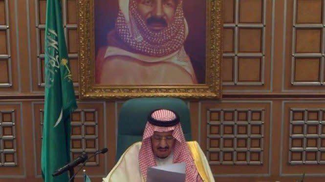 Ucapan Selamat Idul Fitri Raja Salman kepada Seluruh Muslim di Dunia