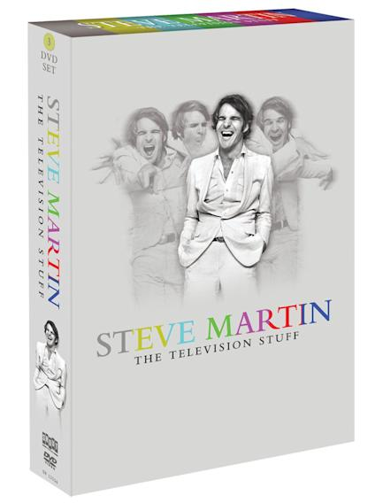 """Steve Martin: The Television Stuff"" Box Set (Shout! Factory)"