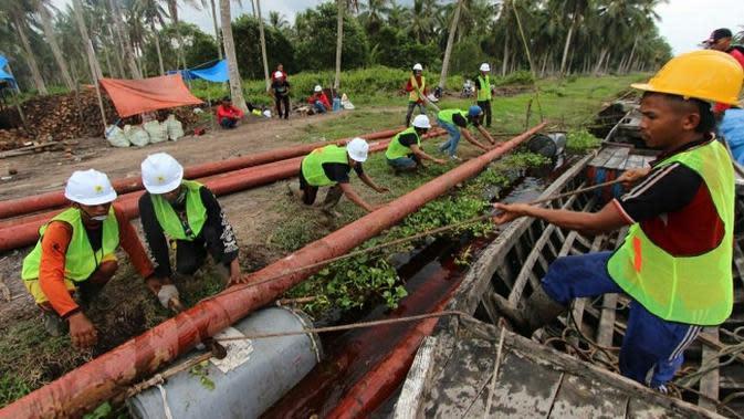Delapan Desa Terpencil di Riau Akhirnya Bisa Nikmati Listrik