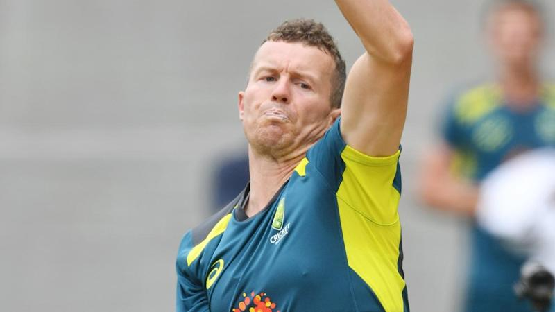 Peter Siddle plays his first ODI since 2010 in the series opener between Australia and India
