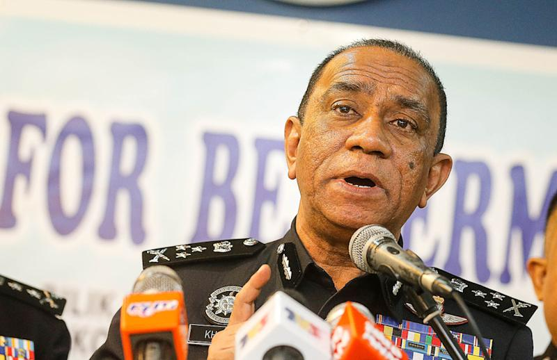 NCID director Datuk Mohd Khalil Kader Mohd, told a press conference that staff with suspicious behaviour will be 'monitored' and hauled in for urine screening. — Picture by Sayuti Zainudin