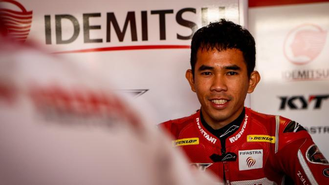 Pembalap Indonesia Gerry Salim tampil sebaik mungkin pada seri terakhir FIM CEV Moto2 European Championship di Sirkuit Ricardo Tormo, Valencia, 9-10 November 2019. (foto: istimewa)