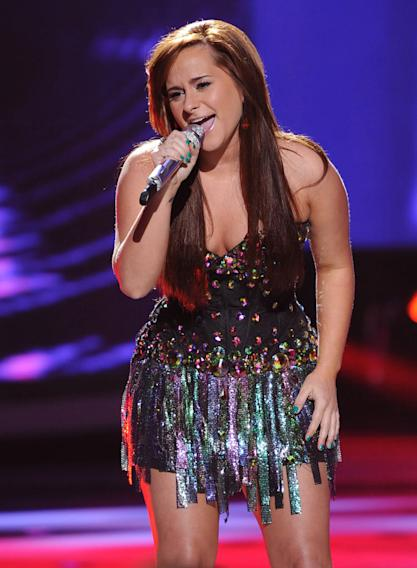 "Skylar Laine performs ""Stay with Me"" by Faces on ""American Idol."""