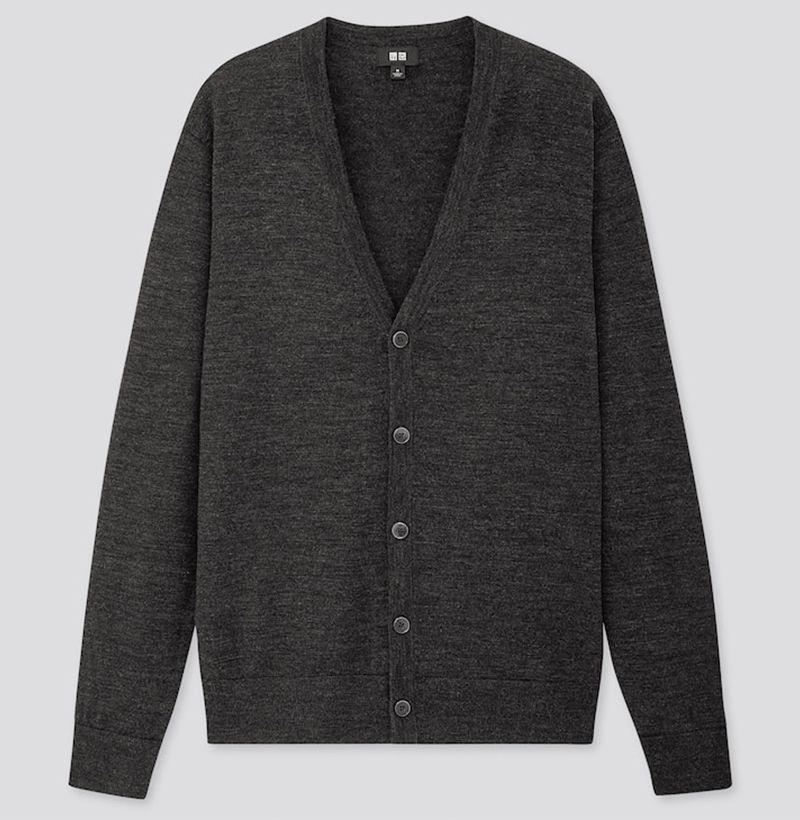 """<p><strong>Uniqlo</strong></p><p>uniqlo.com</p><p><strong>$49.90</strong></p><p><a href=""""https://go.redirectingat.com?id=74968X1596630&url=https%3A%2F%2Fwww.uniqlo.com%2Fus%2Fen%2Fmen-extra-fine-merino-v-neck-long-sleeve-cardigan-419188.html&sref=https%3A%2F%2Fwww.esquire.com%2Fstyle%2Fmens-fashion%2Fg12245584%2Fbest-cardigan-sweaters-men%2F"""" target=""""_blank"""">Buy</a></p><p>The cardigan so good we had to <a href=""""https://www.esquire.com/style/mens-fashion/a32382059/uniqlo-cardigan-sweater-review-endorsement/"""" target=""""_blank"""">endorse</a> it. </p>"""