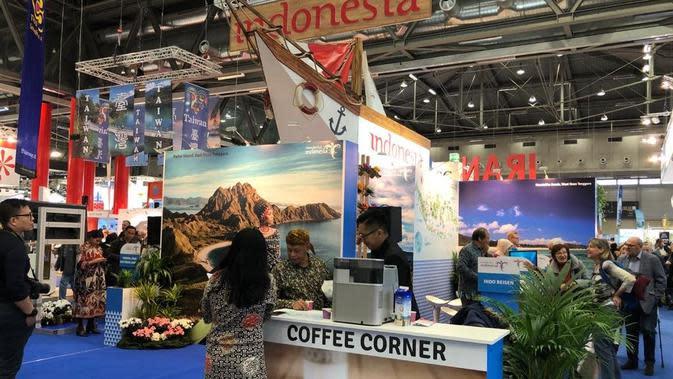 Pameran kebudayaan Indonesia di Austria. (Source: Dokumentasi KBRI Wina via Kemlu RI)