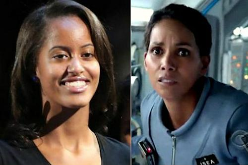 Malia Obama Works on Set of Halle Berry's 'Extant' During Pilot Reshoots (Exclusive)