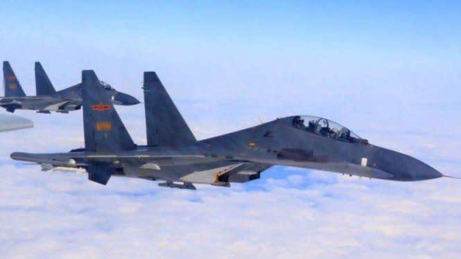 Angkatan Udara Taiwan Usir Paksa Jet Tempur China dari Selat Taiwan