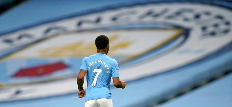 Raheem Sterling scored the first goal as Manchester City beat Arsenal
