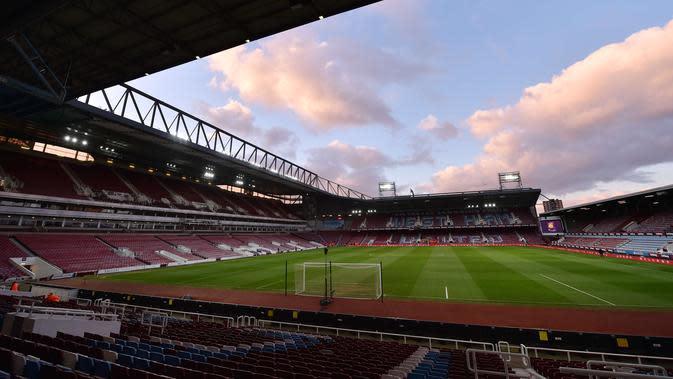 Ilustrasi Markas West Ham United, Boleyn Ground, London. (West Ham World)