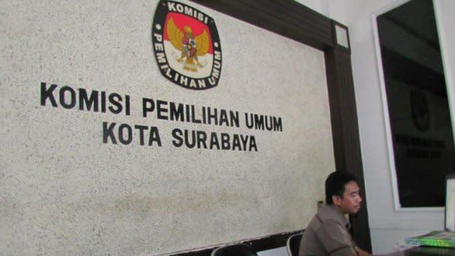 Pilkada Surabaya, Dua Pasangan Calon Resmi Duel Rebutan Kursi Risma