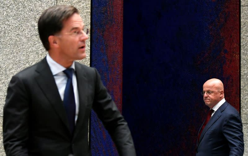 Shut up! Dutch Prime Minister tells cheering soccer fans