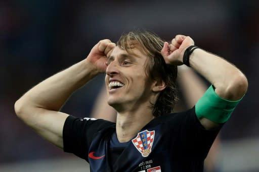 Luka Modric is hoping to lead Croatia to World Cup glory