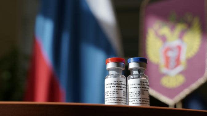 Ilustrasi vaksin COVID-19 Rusia Sputnik-V (AFP)