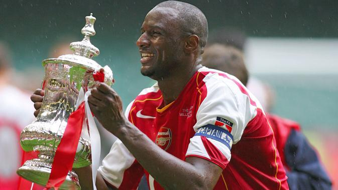 Patrick Vieira bermain untuk Arsenal pada 1995 hingga 2005. Patrick Vieira pernah melatih Manchester City Reserves dan saat ini menjadi pelatih kepala untuk New York City. (AFP/Adrian Dennis)