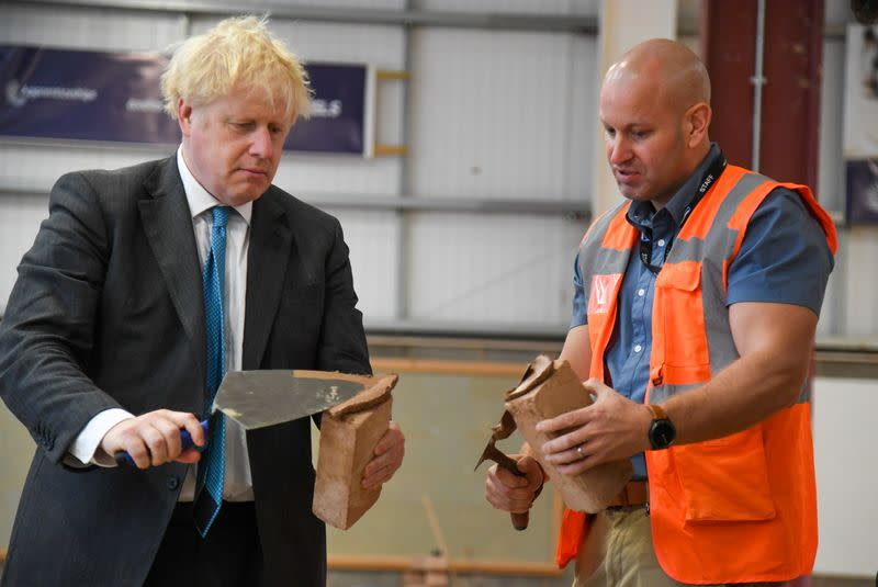 Johnson says Britain should attract talented people from around the world