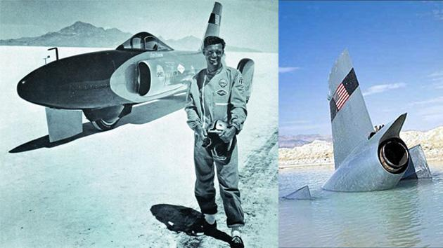 October 15: Craig Breedlove hits 526 mph before crashing on this date in 1964
