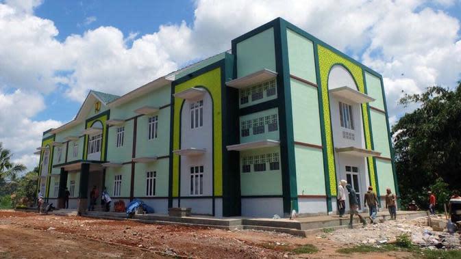Rusun Pompes Assyaroniyyah, Lampung, yang dibangun oleh Kementerian PUPR.